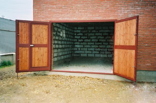 Идеи для ворот гаража фото