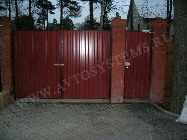Ворота распашные шзпав 56 комплектующие откатные ворота в нижнем новгороде