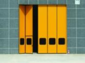 Складные ангарные ворота
